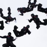 Formation Skydiving: 4way
